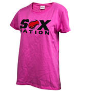 Sox Nation T-Shirts - Pink